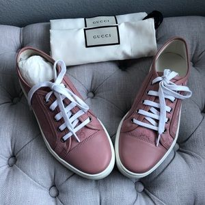 Gucci Canvas Sneakers *Rarely Worn*